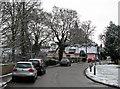 TL4551 : Great Shelford: Church Street in February by John Sutton