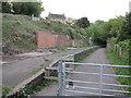 ST7660 : Midford railway station (site), Somerset by Nigel Thompson