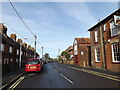 TM4557 : B1122 Leiston Road, Aldeburgh by Adrian Cable