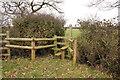SJ4450 : Stile and footpath near Castletown by Jeff Buck
