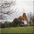 TQ8433 : The Oast, Mount Pleasant Farm, Halden Lane, Benenden by Oast House Archive