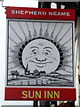 TL8619 : Inn sign, Sun Inn, Feering by Robin Webster