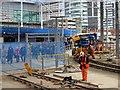 SJ8498 : Manchester Victoria Building Work (February 2015) by David Dixon