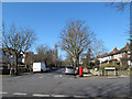 TQ4076 : Junction of Hervey Road and Eastbrook Road  by Stephen Craven