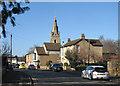 TL4070 : Willingham: Church Street in February by John Sutton