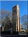 TQ2278 : St John the Evangelist, Glenthorne Road, Hammersmith by John Salmon