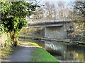 SD8333 : Leeds and Liverpool Canal, Whittlefield Bridge by David Dixon