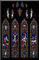 TQ6018 : East Window, St Mary's Church, Warbleton : Week 10