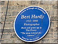 Photo of Bert Hardy blue plaque