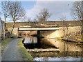 SD8538 : Leeds and Liverpool Canal, Reedyford Bridge by David Dixon