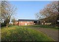 SJ7366 : Farm Buildings at Sproston Hall by Des Blenkinsopp