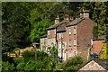 SJ9665 : Hillside houses, Danebridge by Chris Denny