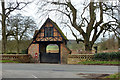SP8405 : Gate house, Chequers by Robin Webster