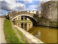 SE1537 : Leeds and Liverpool Canal, Junction Bridge (208) by David Dixon