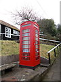 ST4805 : Chedington: red telephone box by Chris Downer