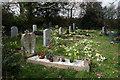 SW7750 : Gravestones  in Callestick Cemetery by Ian S