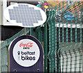 "J3374 : ""Belfast Bikes"", Arthur Street, Belfast - April 2015(2) by Albert Bridge"