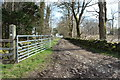 NX4066 : Track to Old Hall Farm by Billy McCrorie