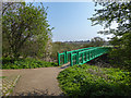 TQ3590 : Bridge over the River Lea, London N18 by Christine Matthews