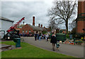 SK5806 : Event day at Abbey Pumping Station by Alan Murray-Rust