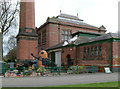 SK5806 : Abbey Pumping Station by Alan Murray-Rust