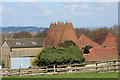 TQ6245 : Bank Farm Oast, Sherenden Road, Tudeley by Oast House Archive