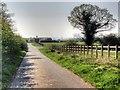 SJ3571 : Track towards Four Ways Farm by David Dixon