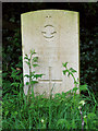 TF7637 : Grave of 2/Lt Arthur Le Roy Dean by Evelyn Simak