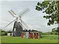 TM0178 : Thelnetham windmill by Adrian S Pye