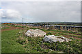 NJ8844 : Auchmaliddie Recumbent Stone Circle (3) by Anne Burgess