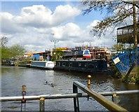 SJ9396 : Warble Wharf by Gerald England