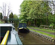 SJ9493 : Unidentified Narrowboat by Gerald England