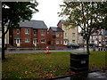 SK2425 : Horninglow Green in the rain by Lez Watson