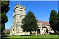 SP7627 : St Laurence church in Winslow by Steve Daniels