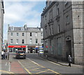 NJ9306 : Junction of Crown Street and Union Street, Aberdeen by Bill Harrison
