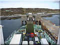 NM2256 : Coastal Argyll : Approaching The Linkspan At Arinagour, Island Of Coll by Richard West