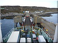 NM2256 : Coastal Argyll : Disembarkation at Arinagour, Island of Coll by Richard West