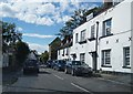 TQ0277 : View along Park Street (Bath Road) by Given Up