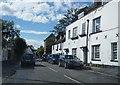 TQ0277 : View along Park Street (Bath Road) by Logomachy