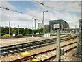 TQ2983 : High Speed 1 (Channel Tunnel Rail Link) Leaving St Pancras Station by David Dixon