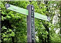 J3067 : Fingerpost sign, Lagan towpath, Drumbeg (June 2015) by Albert Bridge