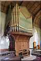 TF1340 : Organ, St Andrew's church, Helpringham by J.Hannan-Briggs