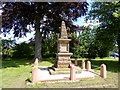 SJ6858 : War memorial near Bradfield Green by Philip Platt