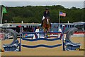 SJ4956 : Bolesworth International Horse Show: Castle Arena by Jonathan Hutchins