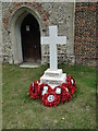 TM1448 : Akenham War Memorial by Adrian S Pye