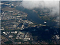 TQ4382 : Beckton from the air by Thomas Nugent