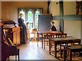 SD6230 : Victorian Schoolroom, Samlesbury Hall by David Dixon