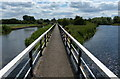 SK1715 : Footbridge along the Trent & Mersey Canal : Week 26