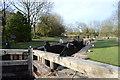 SD9153 : Leeds & Liverpool Canal Lock 38 by N Chadwick