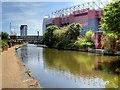 SJ8096 : The Bridgewater Canal, Old Trafford by David Dixon